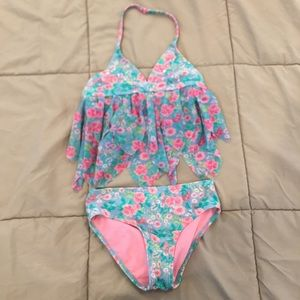 Girls 2 piece swimsuit